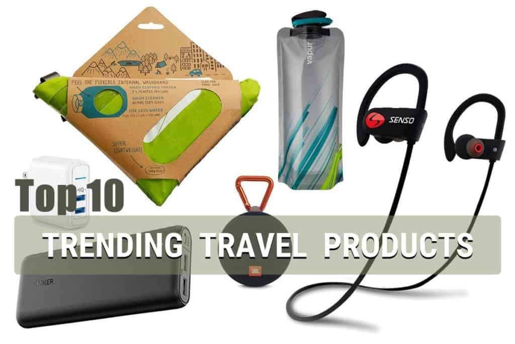 TOP 10 Trending Travel Products