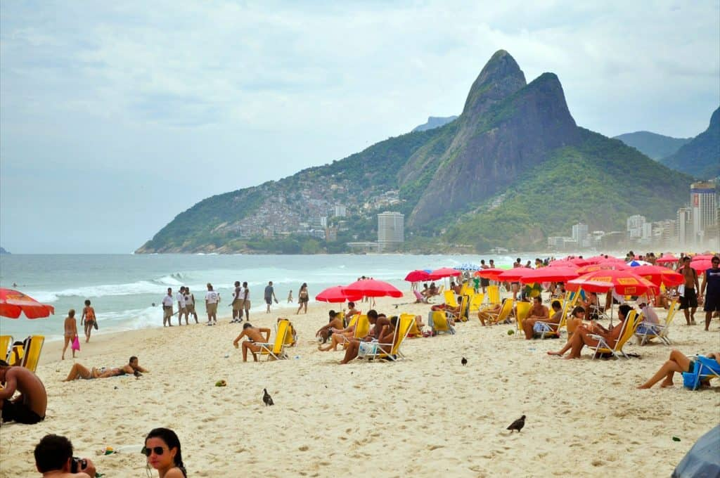 Copacobana Beach Brazil bookonboard guide travel