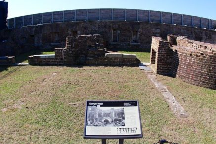 George Wall Fort Sumter National Monument travel to US