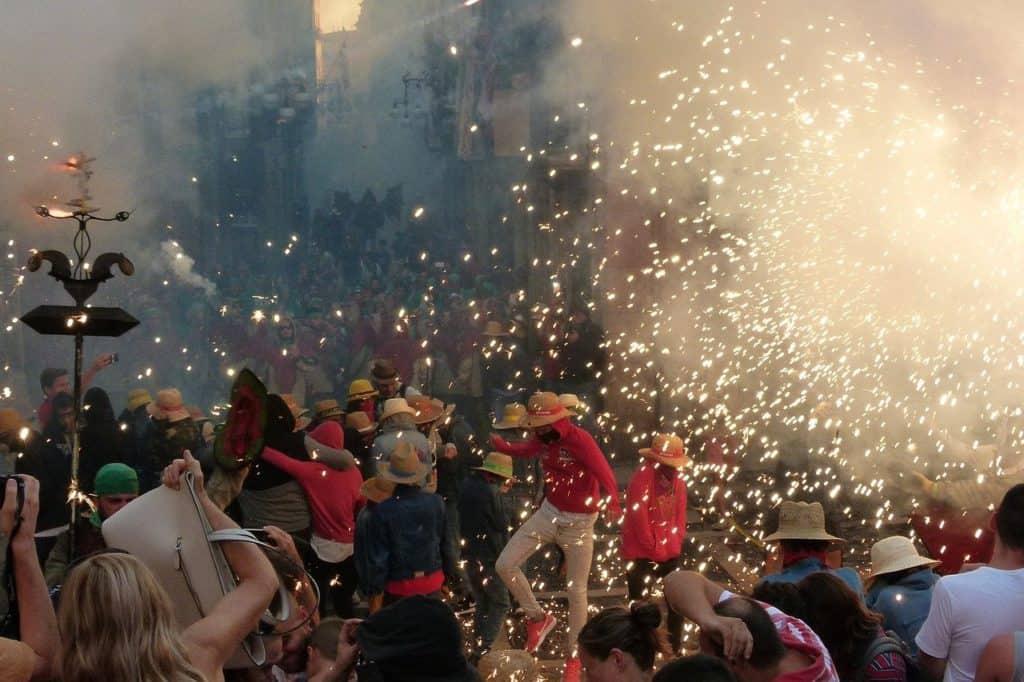 La Merce Festival Barcelona Spain