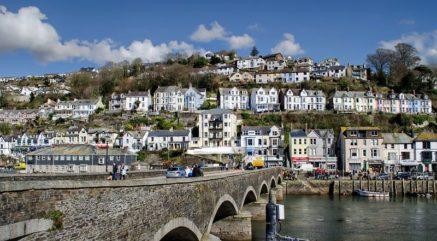 Looe Cornwall UK New Year Celebration