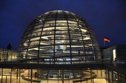 Reichstag Building Glass Dome Berlin Germany