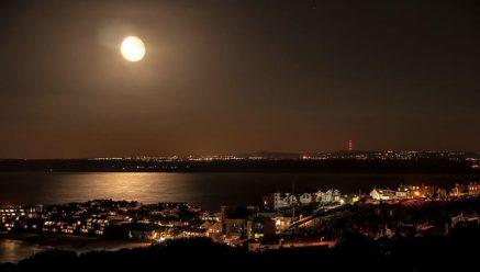 St. Ives Cornwall UK New Year