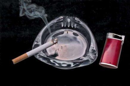 cigarette on a plane