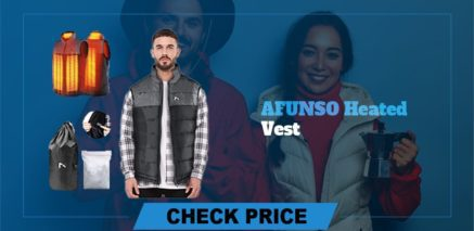 AFUNSO heated vest Best Heated Vest Guide and Reviews 2021