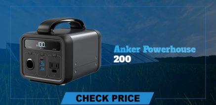 Anker powerhouse 200 best  portable power generators 2021
