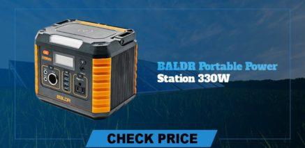 BALDR portable power station 330w best  portable power generators 2021