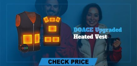DOACE Upgraded heated vest Best Heated Vest Guide and Reviews 2021