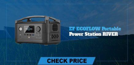 EF Ecoflow portable power station river best  portable power generators 2021