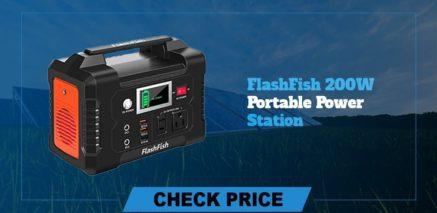 Flashfish 200w portable power station best  portable power generators 2021