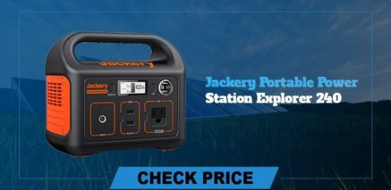 Jackery Portable Power Station Explorer 240 best  portable power generators 2021
