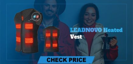 leadnovo heated vest Best Heated Vest Guide and Reviews 2021