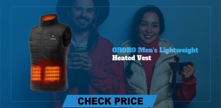 ORORO Men's lightweight Best Heated Vest Guide and Reviews 2021