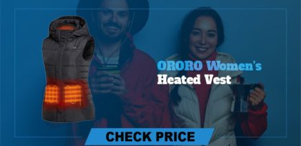 Ororo women's heated vest Best Heated Vest Guide and Reviews 2021