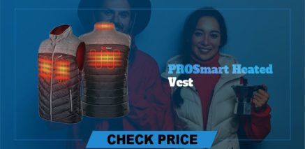 PROSmart heated vest Best Heated Vest Guide and Reviews 2021