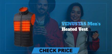VENUSTAS Men's heated vest Best Heated Vest Guide and Reviews 2021