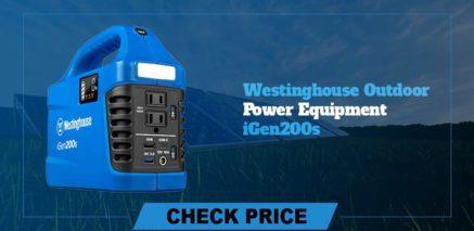 westinghouse outdoor power equipment iGenn200s best  portable power generators 2021