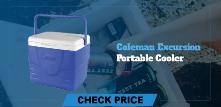 best camping coolers review coleman excursion portable cooler
