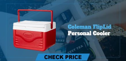 best camping coolers review coleman fliplid personal cooler
