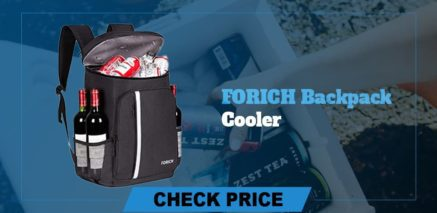 best camping coolers review forich backpack cooler