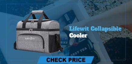best camping coolers review lifewit collapsible cooler