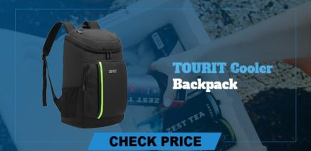best camping coolers Tuorit cooler backpack review