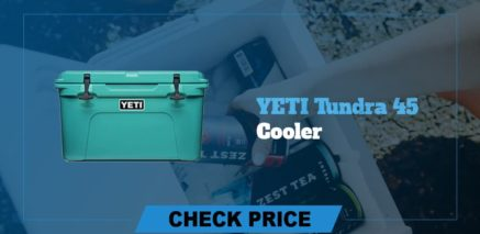 best camping coolers review yeti tundra 45 cooler